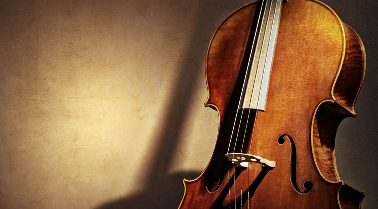 Closeup of a cello and 5 tips for buying one