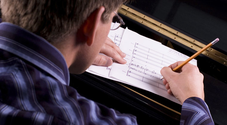song writer learning the basics of song writing