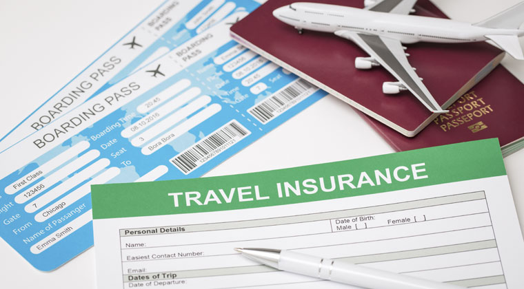 insurance paper for traveling with instrument