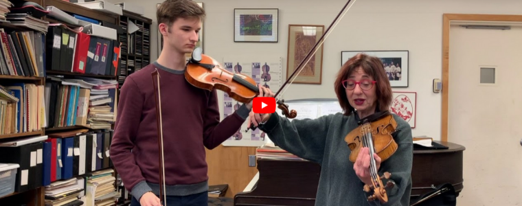 A Short Story On The Forces We Need To Use On The Violin