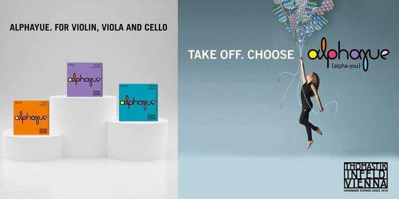 Alphayue. For Violin, Viola, and Cello