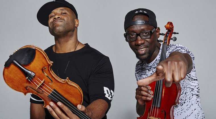Wil B. and Kev Marcus also known as Black Violin