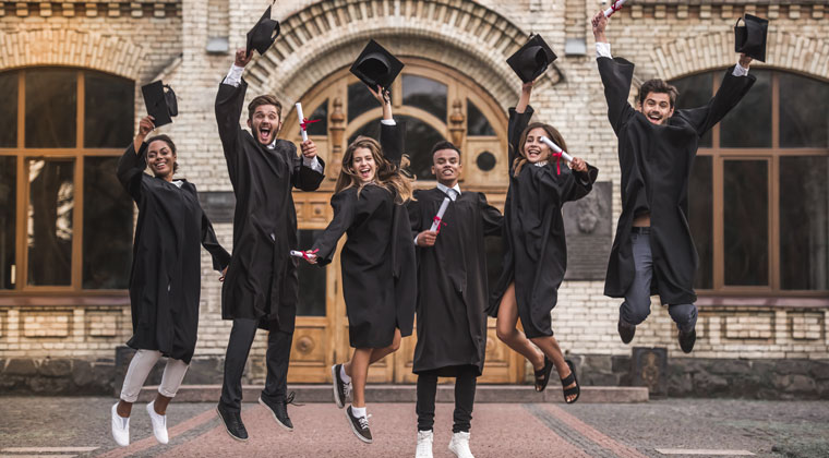 Music major graduates excited with just graduating