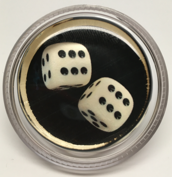 Dice in a Magic Rosin