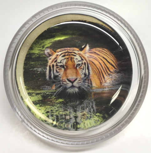 Magic Rosin With Tiger In It