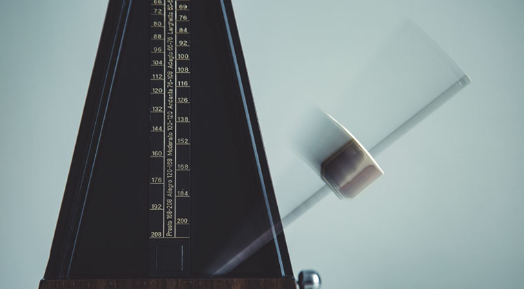 Metronome in motion learning why you need one