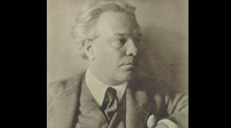 Composer and violinist Ottorino Respighi, circa 1934