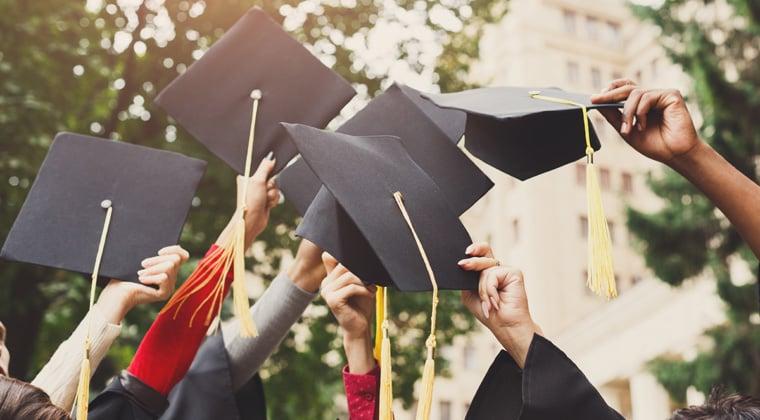 Music school graduates celebrating. What happens next?