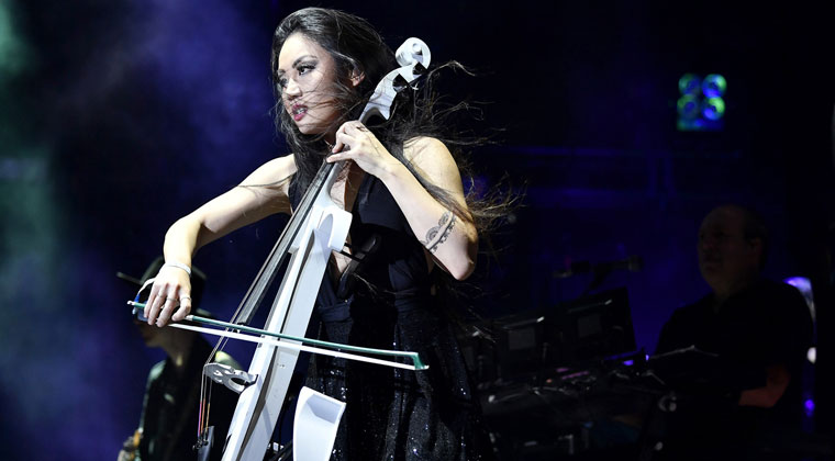 Artist Profile: Electronic Cellist Tina Guo https://www.connollymusic.com/stringovation/tina-guo-electronic-cellist  @revellestrings