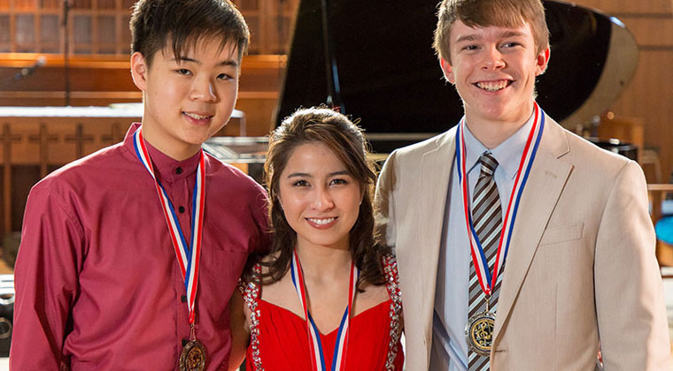 HHSO Youth Concert Competition winners and other upcoming violin competitions and concerts happening this winter
