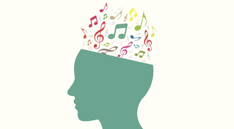 music notes in head improving memory