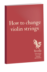 how to change violin strings