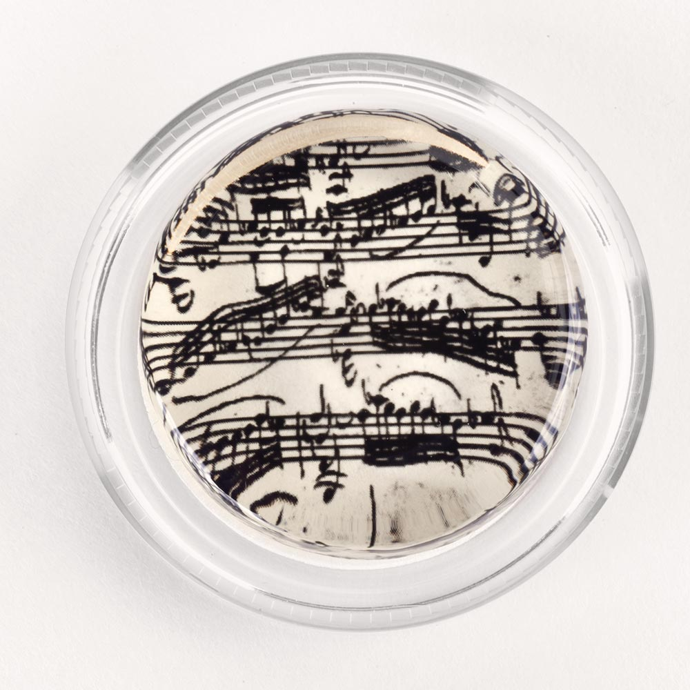 Image to go to information page for Bach Manuscript rosin