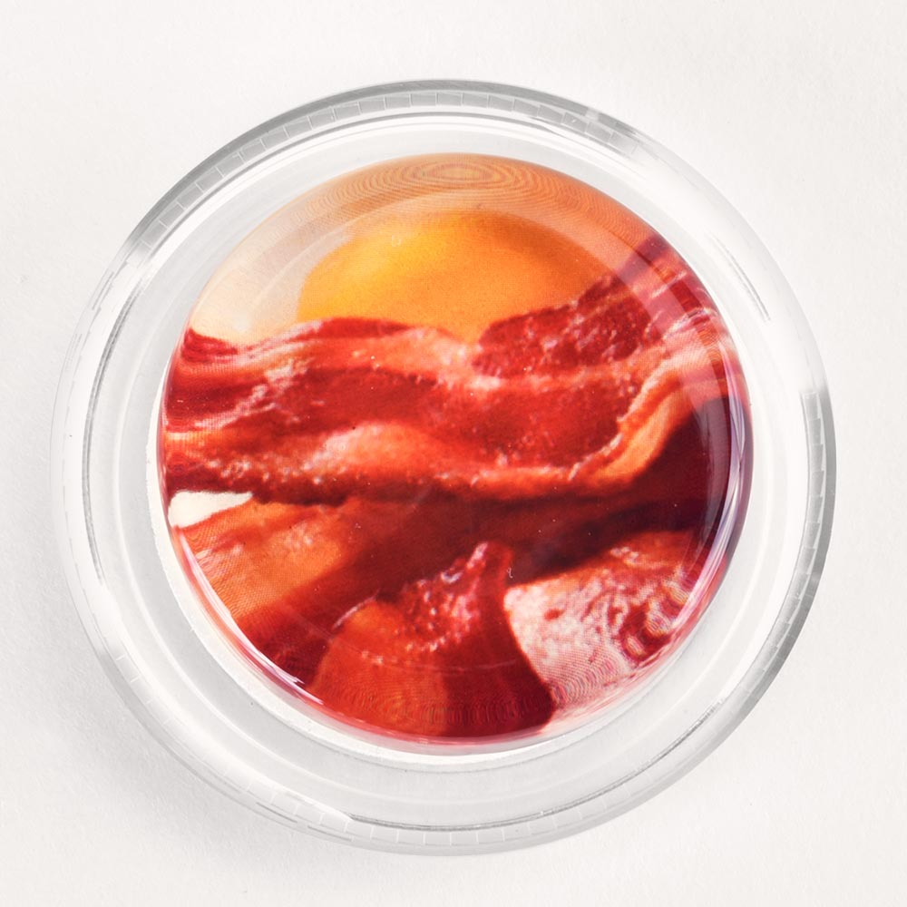 Image to go to information page for Bacon and Eggs rosin
