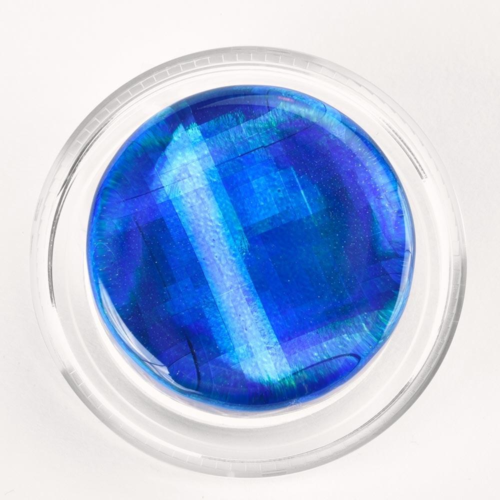 Blue Infinity Hologram
