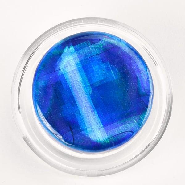 Blue Infinity Hologram Magic Rosin
