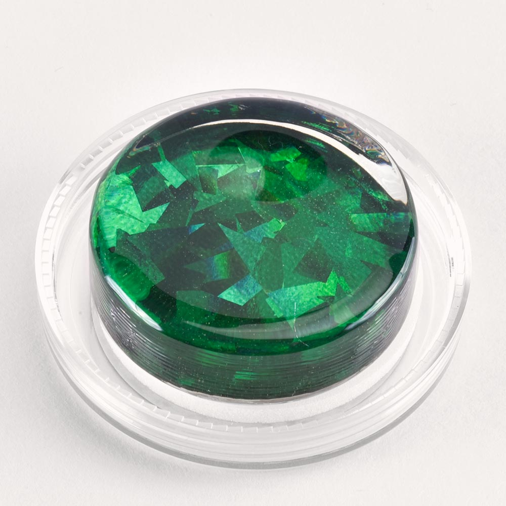 Image to go to information page for Green Shattered Glass rosin