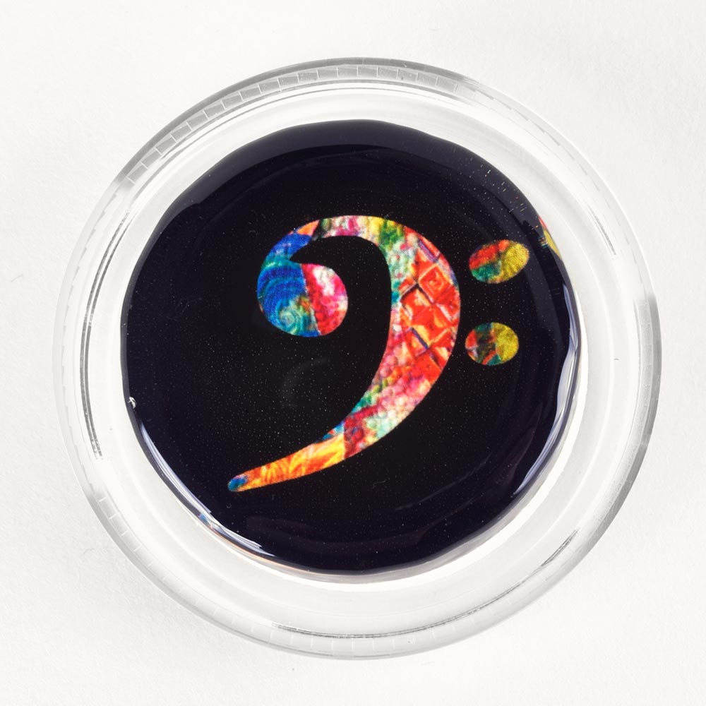 Groovy Bass Clef Magic Rosin
