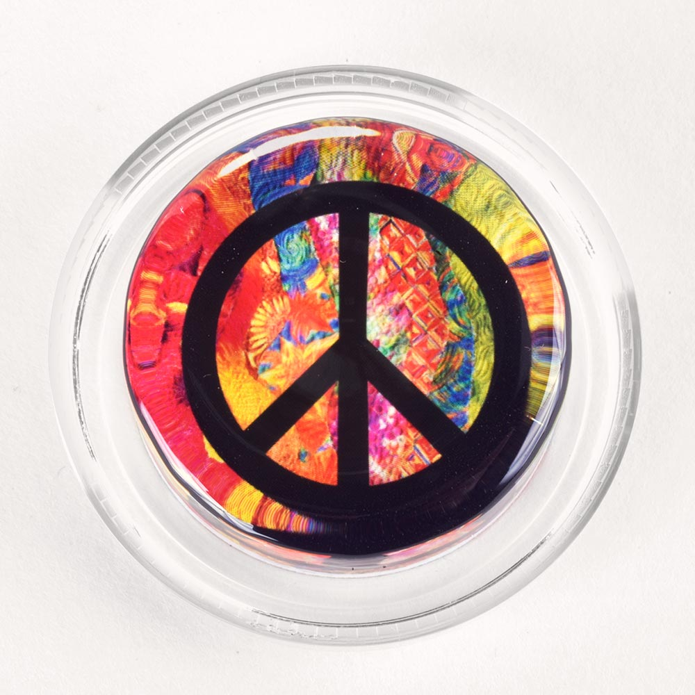 Image to go to information page for Groovy Peace Symbol rosin