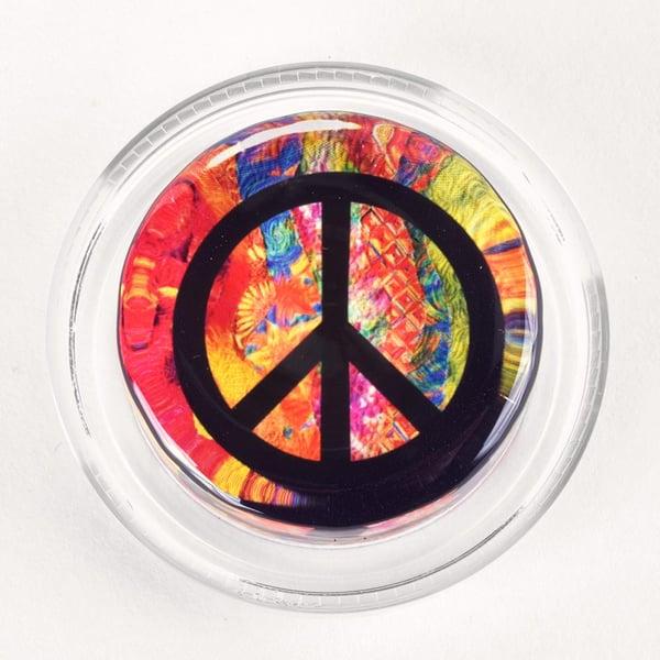 Groovy Peace Symbol Magic Rosin