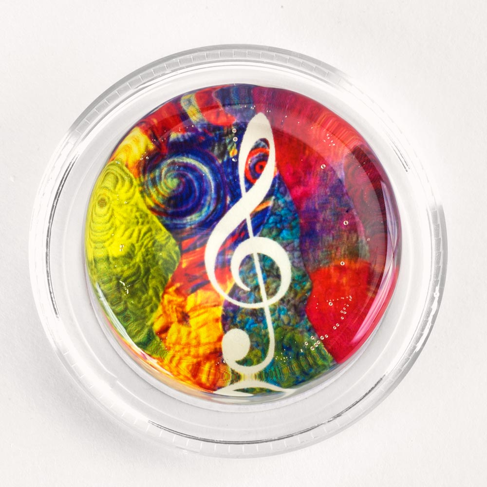 Image to go to information page for Groovy Treble Clef rosin
