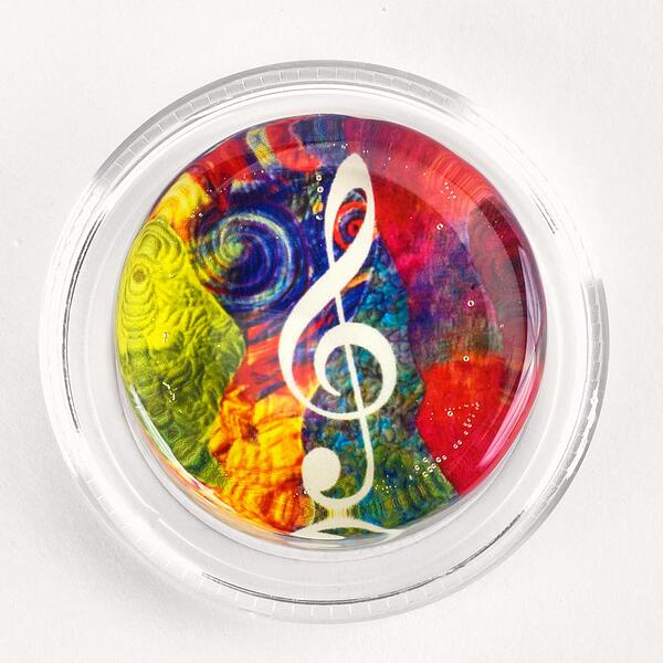 Groovy Treble Clef Magic Rosin
