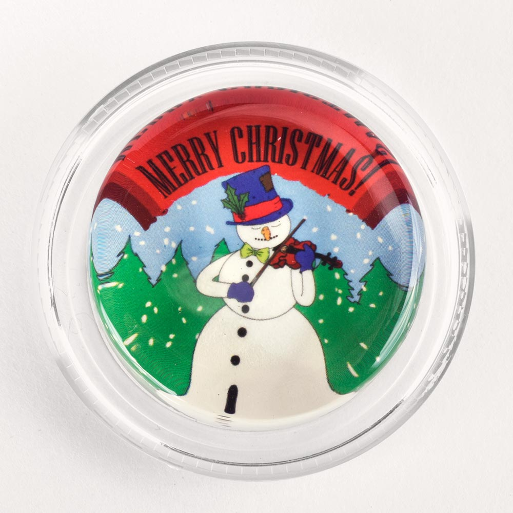 Image to go to information page for Merry Christmas Snowman Violinist rosin