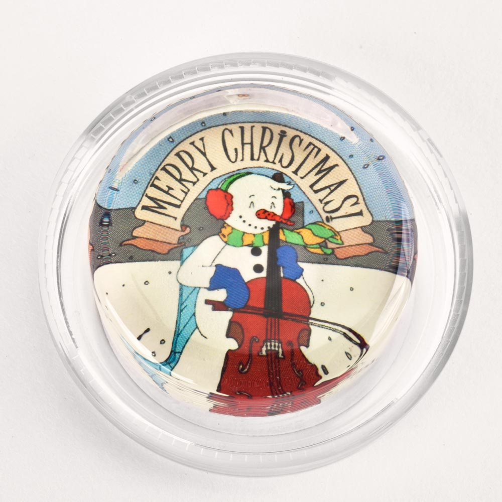 Image to go to information page for Snowman Cellist rosin