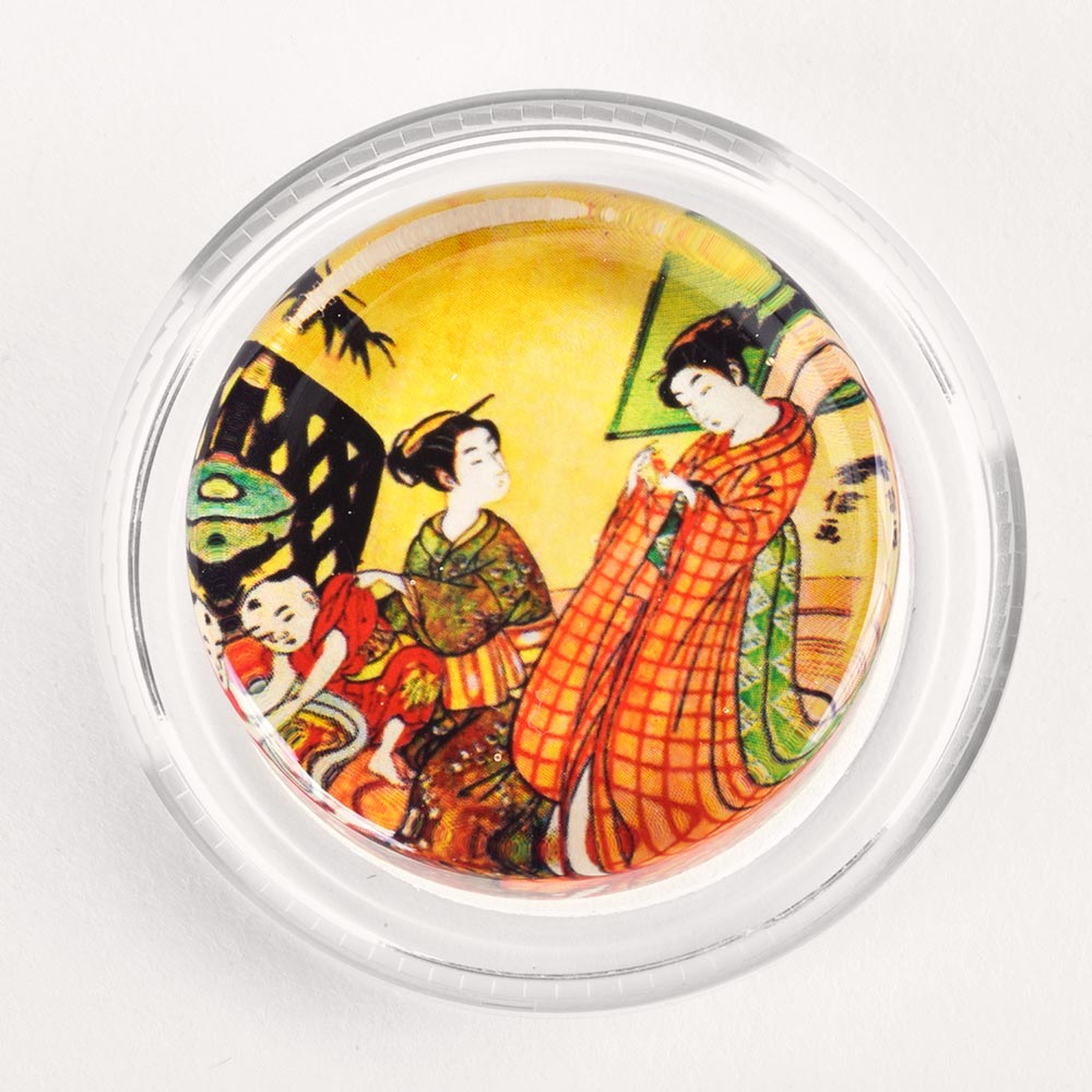 Image to go to information page for Vintage Japanese Wood Block rosin