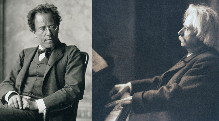 Romantic era composers Mahler and Grieg