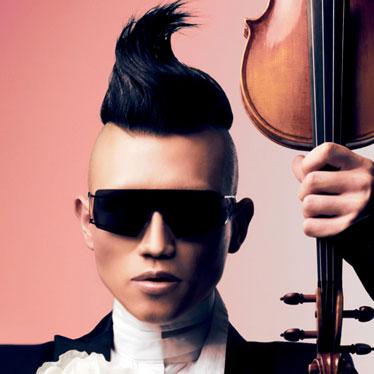 Violinist Amadéus Leopold – a.k.a. Hahn-Bin