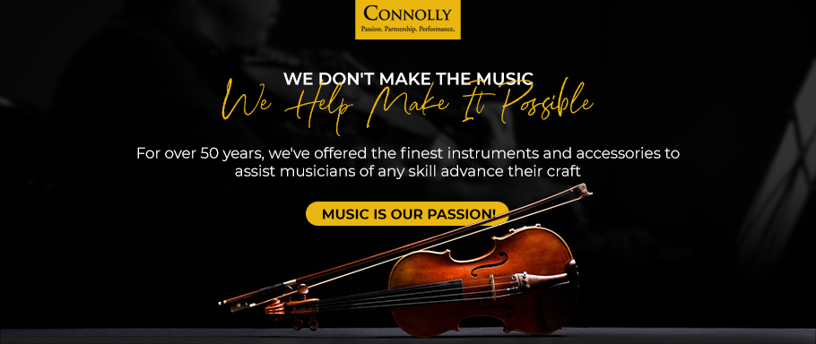 Connolly makes help music possible