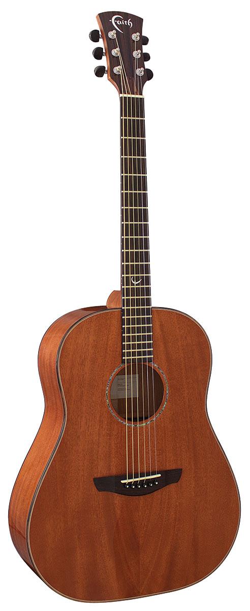 Mars Drop Shoulder Dreadnought Faith Guitar Front
