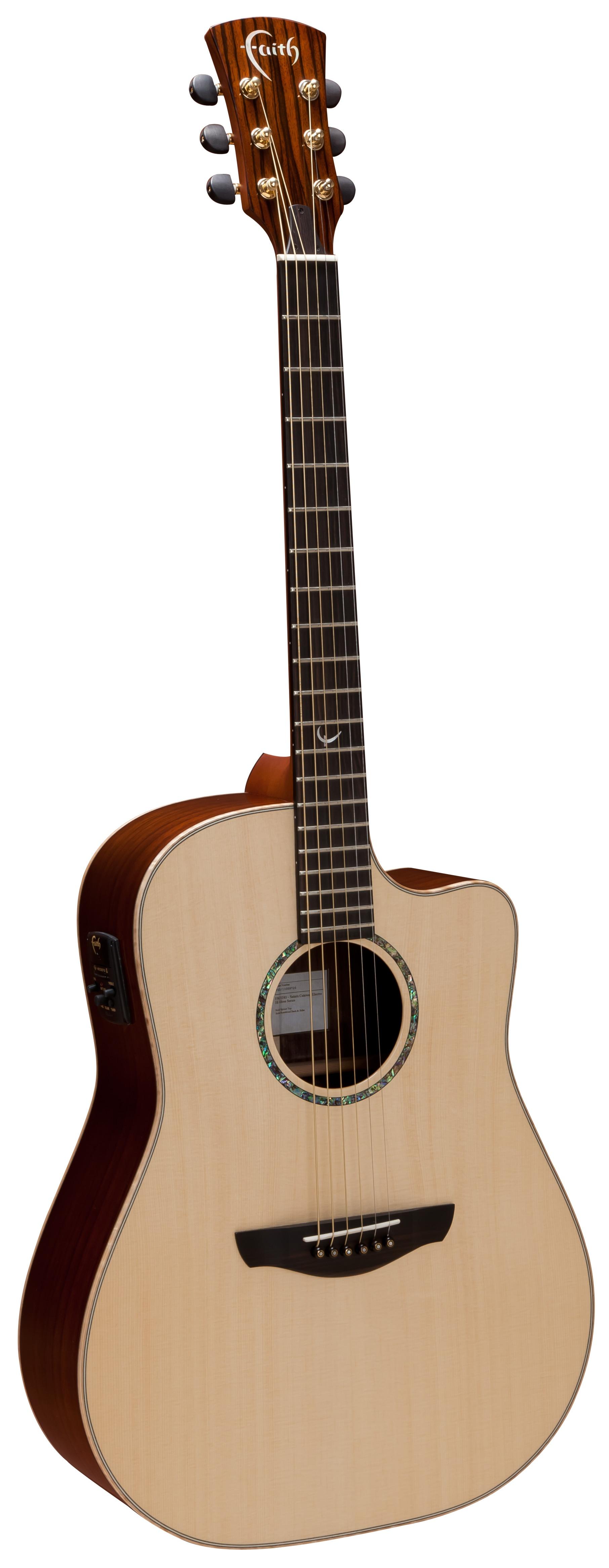Faith Guitar Shape Selection