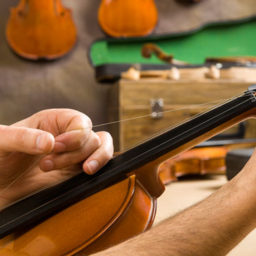 How to Replace Your Violin Strings