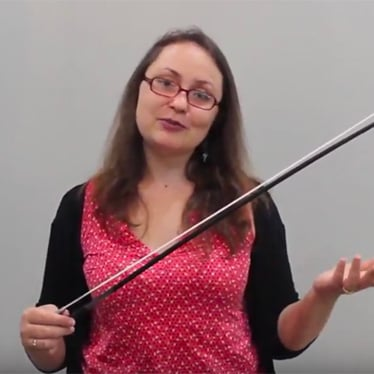 Learn the Different Parts of the Violin Bow