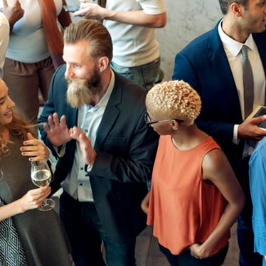 5 Tips for Easy Conversation at Music Receptions