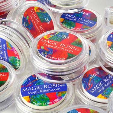 Notes from Sarah West, Inventor of Magic Rosin®