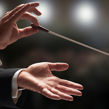 A Conductor's Job is More Than Waving a Baton