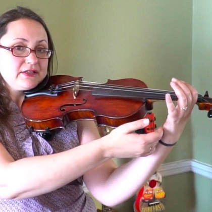 How to Properly Hold Your Violin