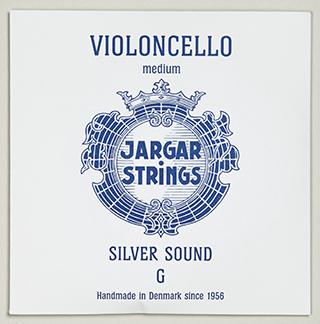 Image of Violoncello Medium Silver Sound G cover