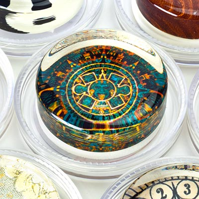 Image to go to Patterns & Symbols rosin collection page