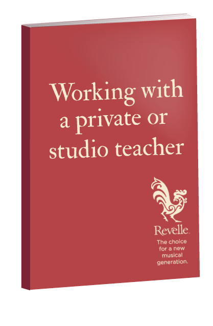 working with a private or studio teacher